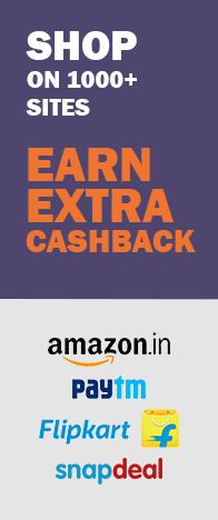Earn Extra Cashback